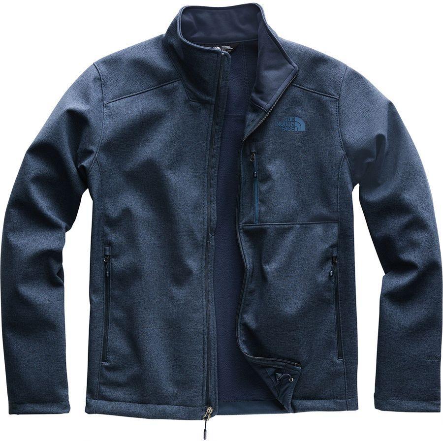(取寄)ノースフェイス メンズ アペックス バイオニック 2 ソフトシェル ジャケット The North Face Men's Apex Bionic 2 Softshell Jacket Urban Navy Heather