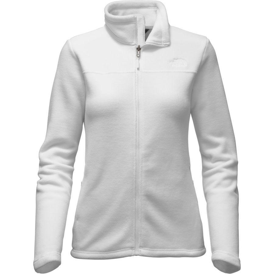 (取寄)ノースフェイス レディース クーンブ フリース ジャケット The North Face Women Khumbu Fleece Jacket Tnf White