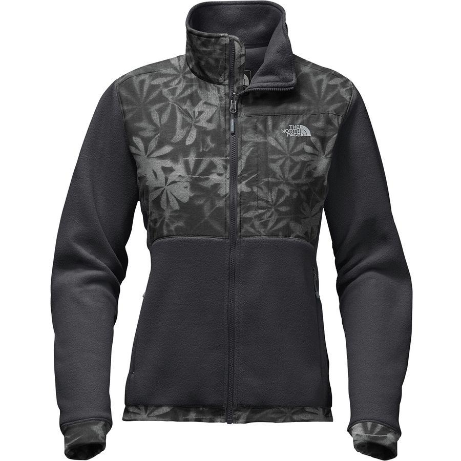 (取寄)ノースフェイス レディース デナリ 2 フリース ジャケット The North Face Women Denali 2 Fleece Jacket Asphalt Grey Lupine Print/Asphalt Grey