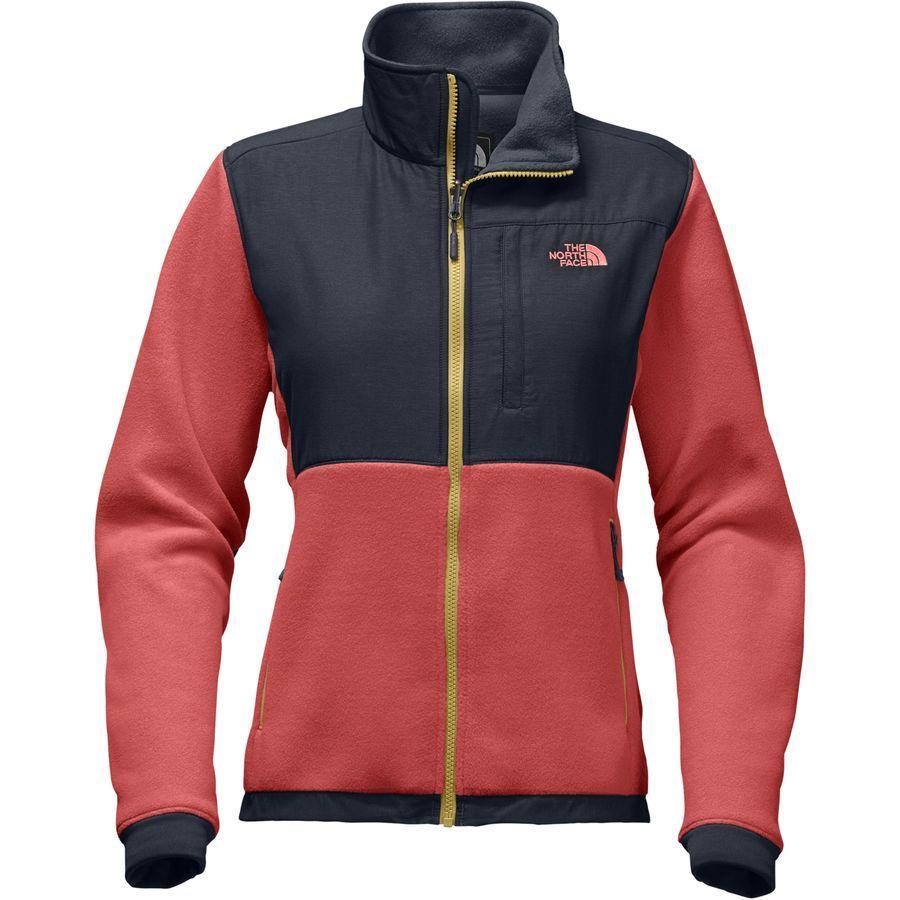 (取寄)ノースフェイス レディース デナリ 2 フリース ジャケット The North Face Women Denali 2 Fleece Jacket Sunbaked Red/Urban Navy