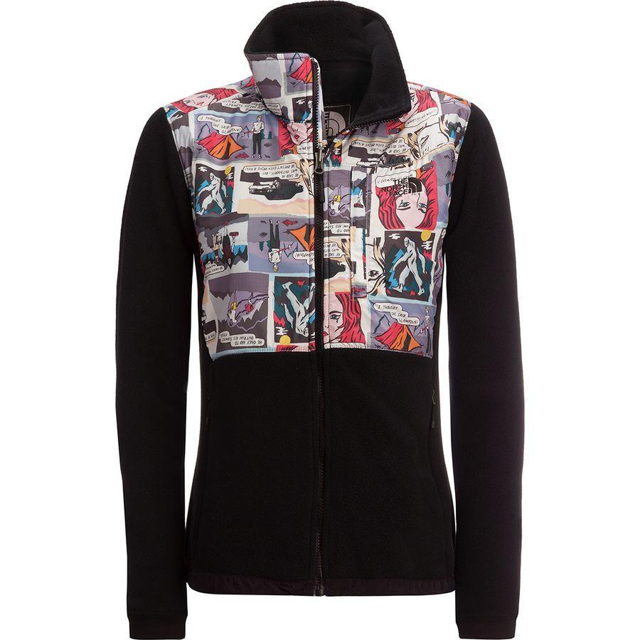 (取寄)ノースフェイス レディース デナリ 2 フリース ジャケット The North Face Women Denali 2 Fleece Jacket Tnf Black/Glamping Print