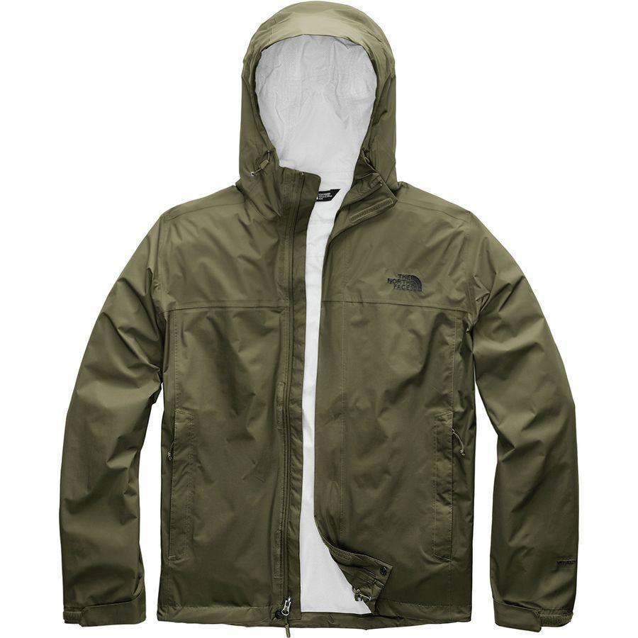 (取寄)ノースフェイス メンズ ベンチャー 2 フーデッド ジャケット The North Face Men's Venture 2 Hooded Jacket New Taupe Green/Tnf Black