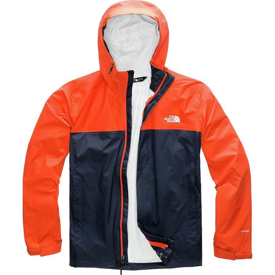 (取寄)ノースフェイス メンズ ベンチャー 2 フーデッド ジャケット The North Face Men's Venture 2 Hooded Jacket Urban Navy/Zion Orange