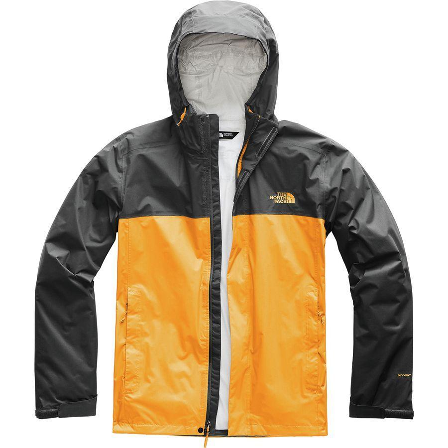 (取寄)ノースフェイス メンズ ベンチャー 2 フーデッド ジャケット The North Face Men's Venture 2 Hooded Jacket Zinnia Orange/Asphalt Grey