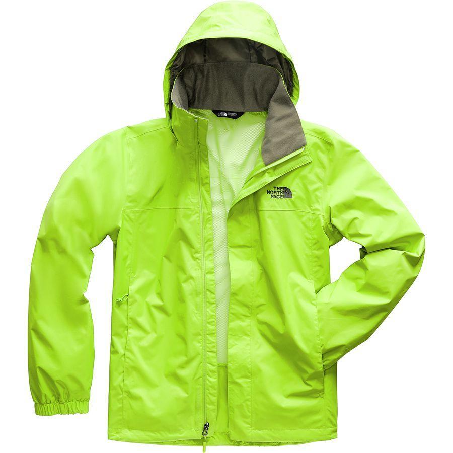 (取寄)ノースフェイス メンズ リゾルブ 2 フーデッド ジャケット The North Face Men's Resolve 2 Hooded Jacket Lime Green/New Taupe Green