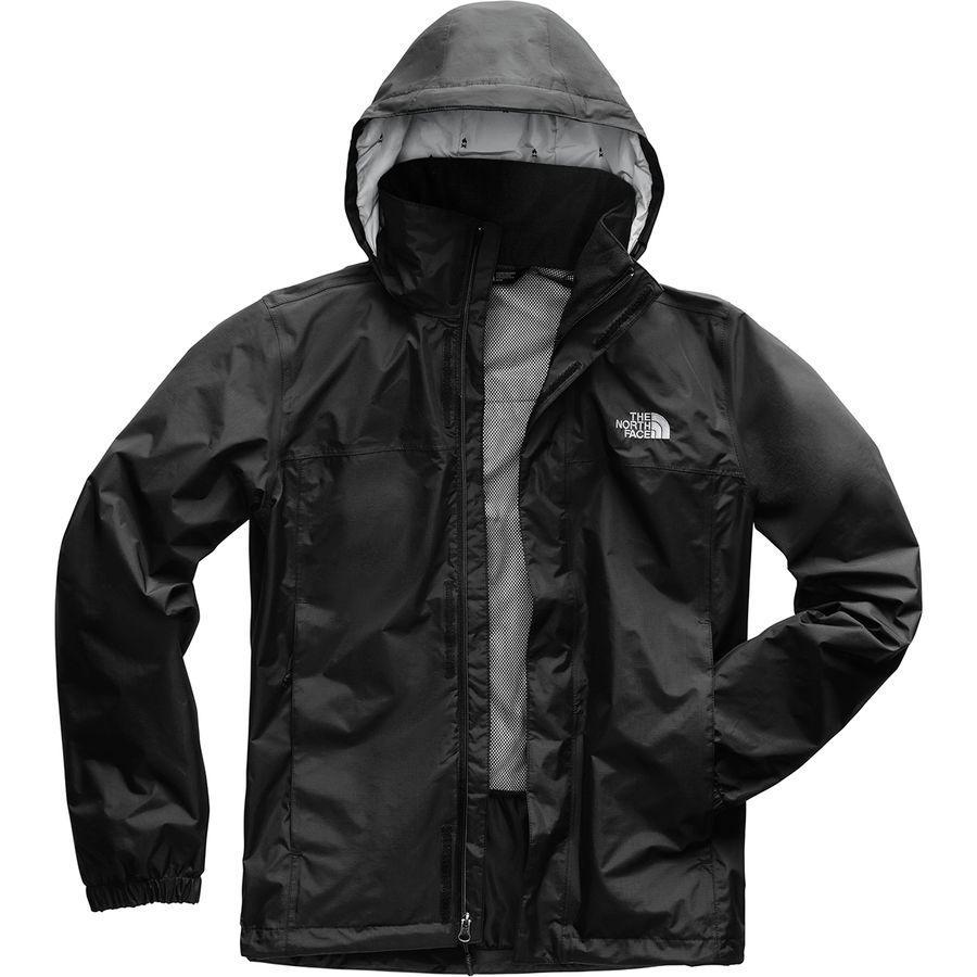 (取寄)ノースフェイス メンズ リゾルブ 2 フーデッド ジャケット The North Face Men's Resolve 2 Hooded Jacket Tnf Black/High Rise Grey Campfire Print