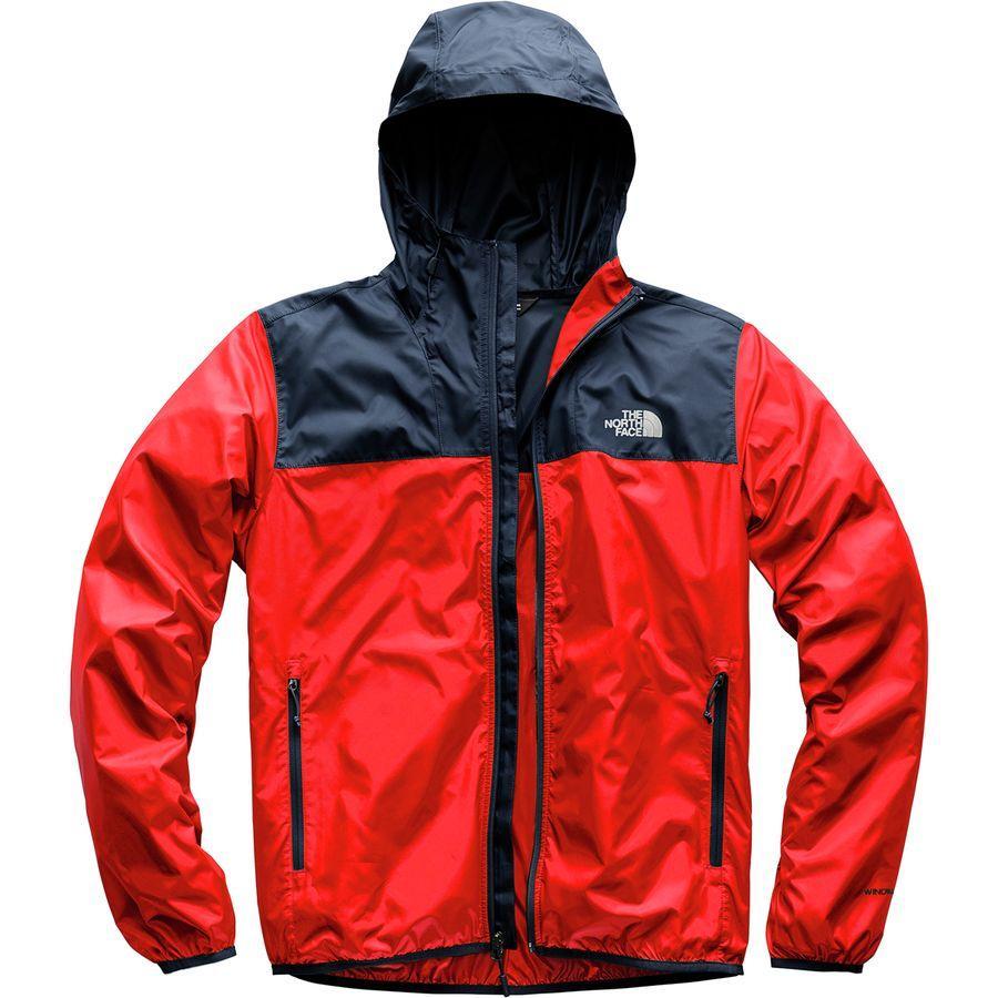 (取寄)ノースフェイス メンズ サイクロン 2 フーデッド ジャケット The North Face Men's Cyclone 2 Hooded Jacket Fiery Red/Urban Navy