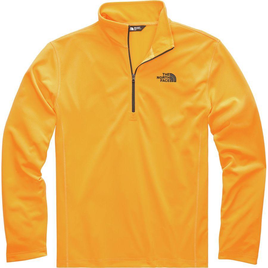 (取寄)ノースフェイス メンズ テック グレイシャー フリース プルオーバー The North Face Men's Tech Glacier Fleece Pullover Zinnia Orange