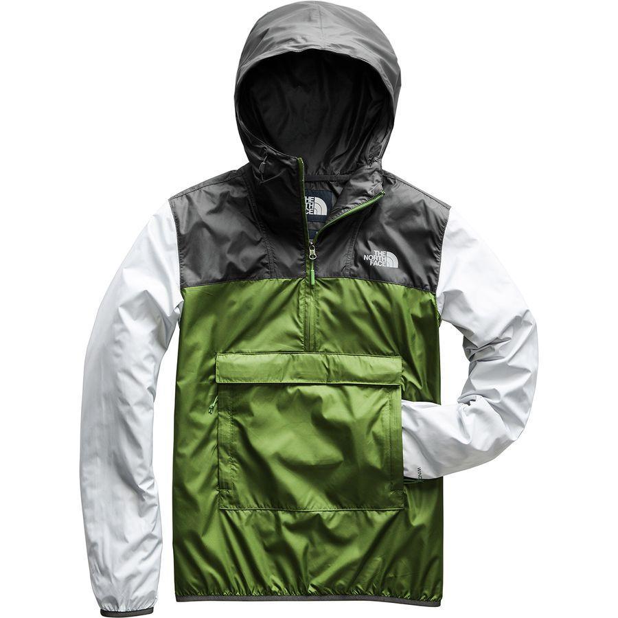 (取寄)ノースフェイス メンズ Fanorak ウィンドブレーカー The North Face Men's Fanorak Windbreaker Garden Green/Asphalt Grey/High Rise Grey