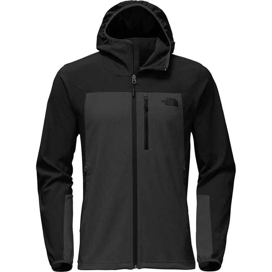 (取寄)ノースフェイス メンズ アペックス ニムブル フーデッド ジャケット The North Face Men's Apex Nimble Hooded Jacket Asphalt Grey/Tnf Black