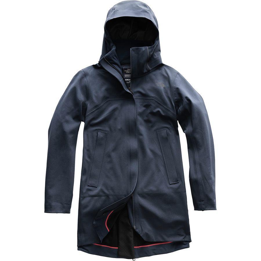 (取寄)ノースフェイス レディース アペックス フレックス Gtx トレンチ ジャケット The North Face Women Apex Flex GTX Jacket Trench Urban Navy/Tnf Black