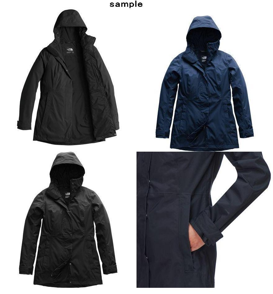 9a5ee91ab (order) North Face Lady's city midi trench jacket The North Face Women City  Midi Jacket Trench Mid Grey