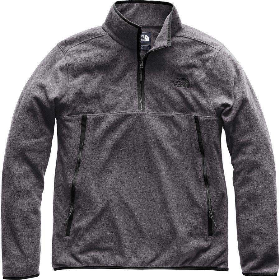 (取寄)ノースフェイス メンズ グレイシャー アルパイン 1/4-Zipフリース プルオーバー ジャケット The North Face Men's Glacier Alpine 1/4-Zip Fleece Pullover Jacket Tnf Dark Grey Heather