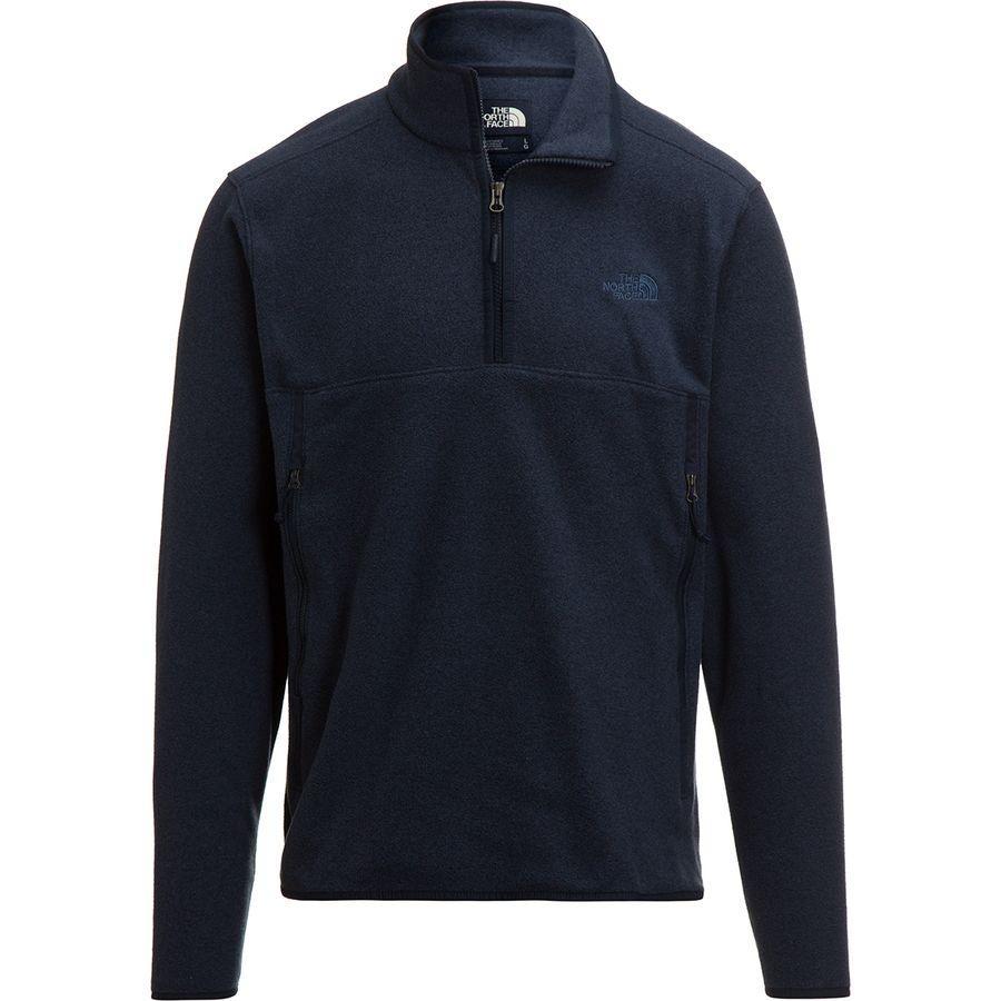 (取寄)ノースフェイス メンズ グレイシャー アルパイン 1/4-Zipフリース プルオーバー ジャケット The North Face Men's Glacier Alpine 1/4-Zip Fleece Pullover Jacket Urban Navy Heather