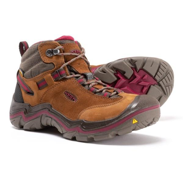(取寄)キーン Mid レディース s ローレル ミッド ハイキング ブーツ Keen Women Monks Laurel Mid s Hiking Boot Monks Robe/Rhododendron, スズキゴルフオンライン:fed8d45b --- sunward.msk.ru