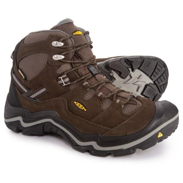 (取寄)キーン メンズ デュアランド ミッド ハイキング ブーツ Keen Men's Durand Mid s Hiking Boot Cascade Brown/Gargoyle
