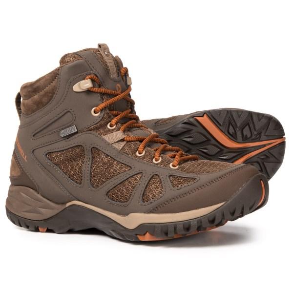(取寄)メレル レディース サイレン スポーツ Q2 ミッド ハイキング ブーツ Merrell Women Siren Sport Q2 Mid s Hiking Boot Slate Black