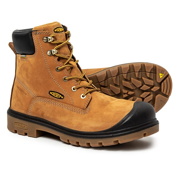 (取寄)キーン メンズ ボルチモア Soft-Toe ワーク ブーツ Keen Men's Baltimore Soft-Toe Work Boots Wheat
