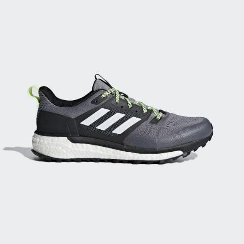 (取寄)アディダス メンズ スーパーノヴァ トレイル ランニングシューズ adidas Men's Supernova Trail Shoes Grey / Cloud White / Core Black