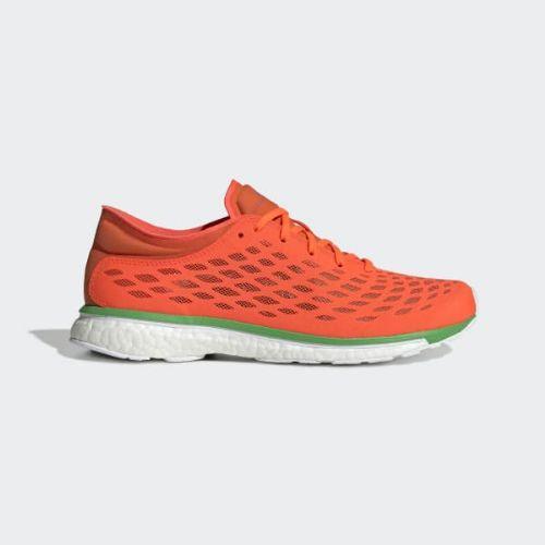 (取寄)アディダス レディース アディゼロ アディオス ランニングシューズ adidas Women Adizero Adios Shoes Solar Red / Radiant Orange / Vivid Green