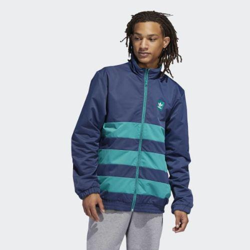(取寄)アディダス オリジナルス メンズ ウェイドラー ジャケット adidas originals Men's Weidler Jacket Collegiate Navy / Active Green