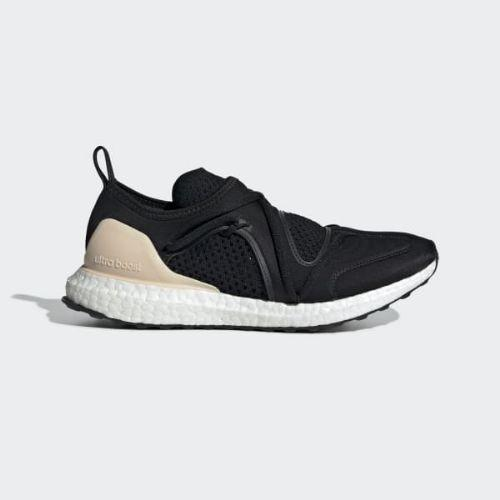 (取寄)アディダス レディース ウルトラブースト ティ ランニングシューズ adidas Women Ultraboost T Shoes Core Black / Core Black / Soft Apricot-Smc