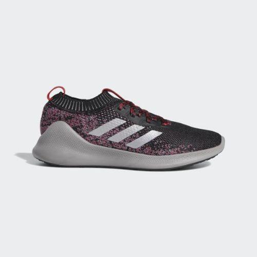 (取寄)アディダス メンズ ピュア バウンス+ ランニングシューズ adidas Men's Purebounce+ Shoes Core Black / Silver Metallic / Scarlet