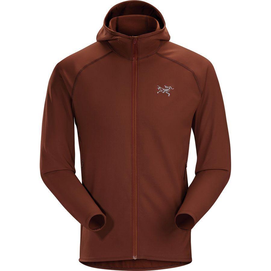(取寄)アークテリクス メンズ Adahy フーデッド フリース ジャケット Arc'teryx Men's Adahy Hooded Fleece Jacket Redox
