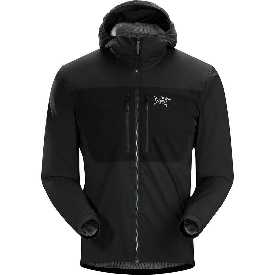 (取寄)アークテリクス メンズ プロトン FL フーデッド インサレーテッド ジャケット Arc'teryx Men's Proton FL Hooded Insulated Jacket Black