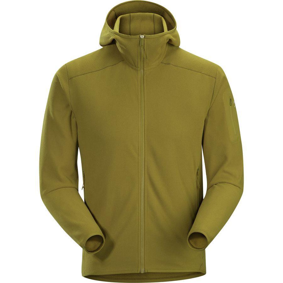 (取寄)アークテリクス メンズ デルタ LT フーデッド フリース ジャケット Arc'teryx Men's Delta LT Hooded Fleece Jacket Yukon
