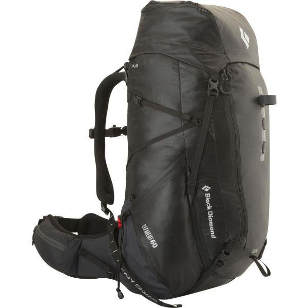 (取寄)ブラックダイヤモンド ユニセックス エレメント 60L バックパック Black Diamond Men's Element 60L Backpack Black