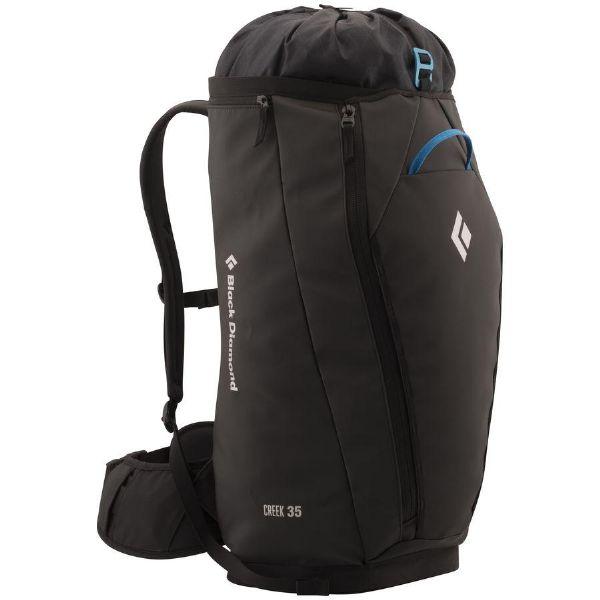 【エントリーでポイント5倍】(取寄)ブラックダイヤモンド ユニセックス クリーク 35L バックパック Black Diamond Men's Creek 35L Backpack Black