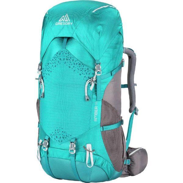 (取寄)グレゴリー レディース アンバー 44L バックパック Gregory Women Amber 44L Backpack Teal Grey