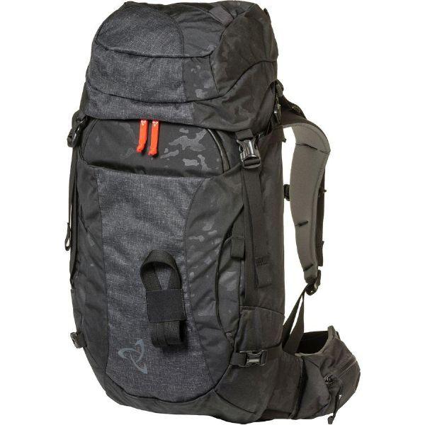 (取寄)ミステリーランチ ユニセックス パトロール 45L バックパック Mystery Ranch Men's Patrol 45L Backpack Black Emboss
