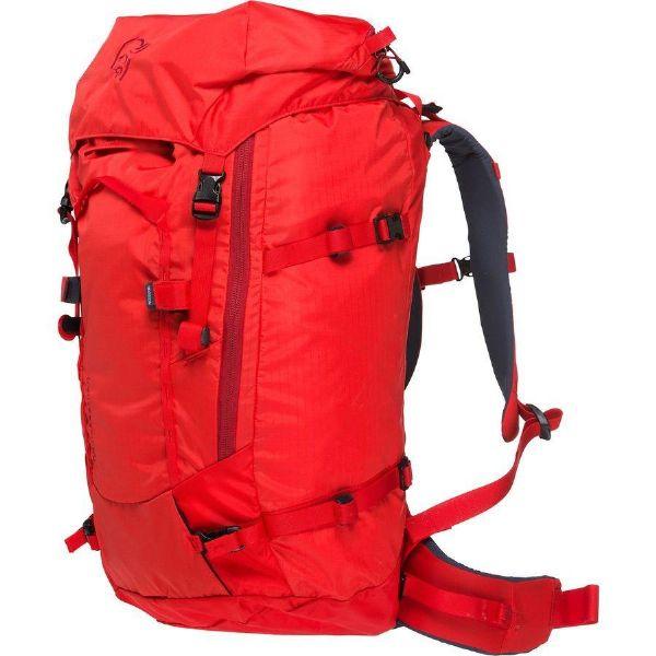 (取寄)ノローナ レディース トロ-ルヴェゲン 40L バックパック Norrona Women Trollveggen 40L Backpack Crimson Kick