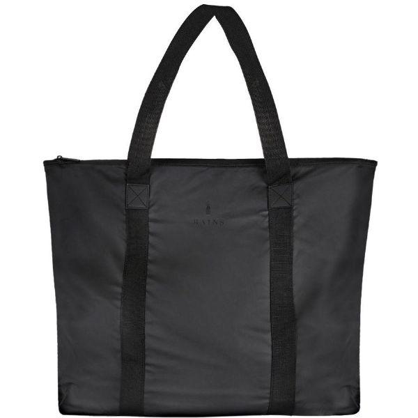 (取寄)レインズ レディース バッグ トート Rains Women Tote Bag Black