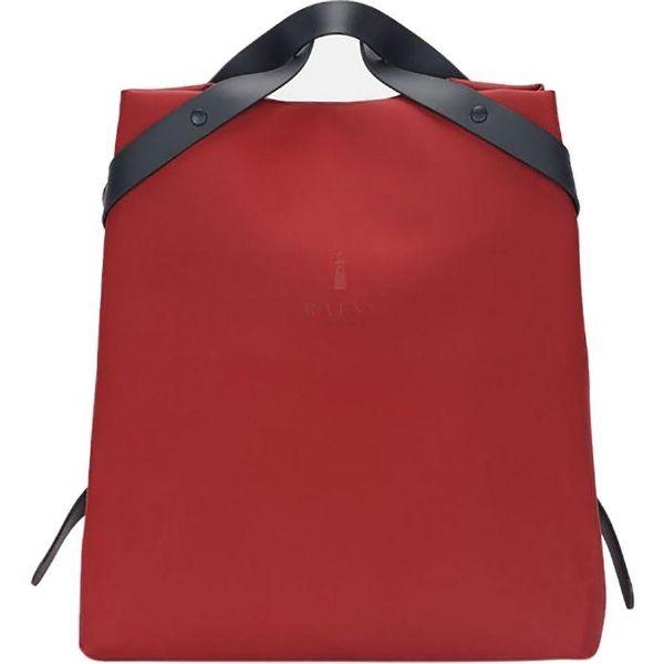 (取寄)レインズ レディース シフト バッグ Rains Women Shift Bag Scarlet
