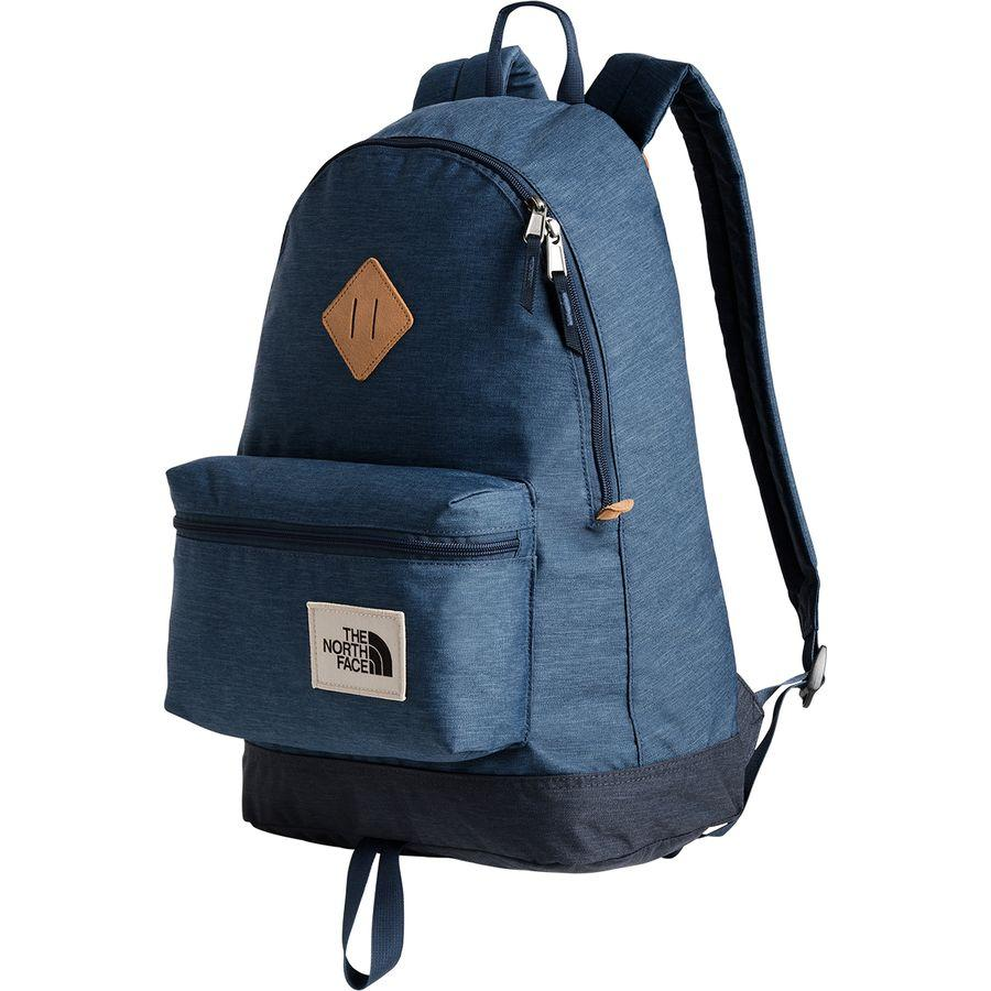 (取寄)ノースフェイス バークレー 25L バックパック The North Face Men's Berkeley 25L Backpack Shady Blue Light Heather/Urban Navy Light Heather