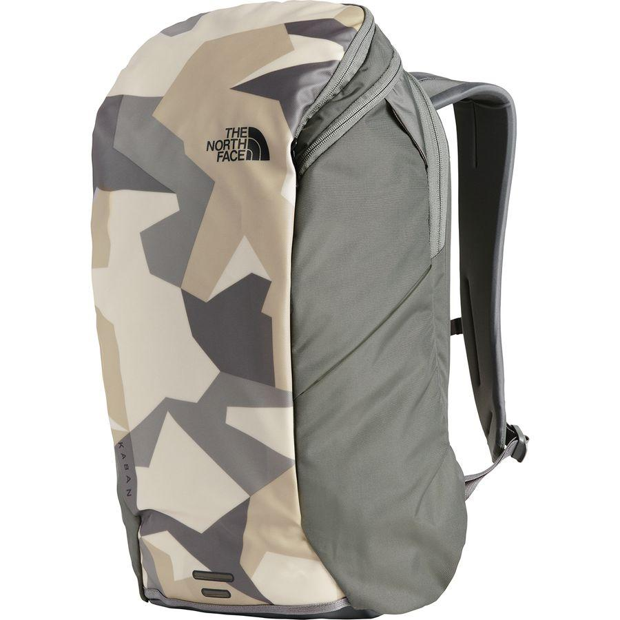 (取寄)ノースフェイス カバン 26L バックパック The North Face Men's Kaban 26L Backpack Twill Beige Splinter Camo Print/Fusebox Grey