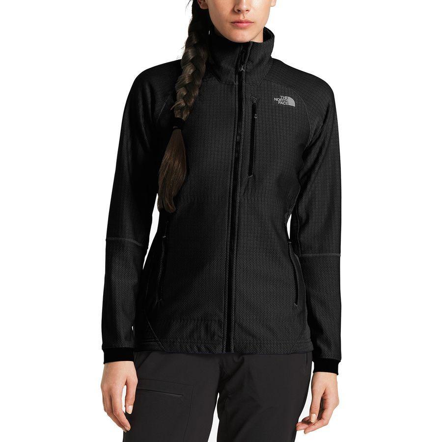 (取寄)ノースフェイス レディース サミット L2ヒューズフォーム グリッド フリース ジャケット The North Face Women Summit L2 Fuseform Grid Fleece Jacket Tnf Black