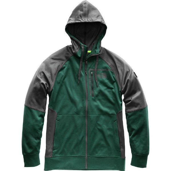 (取寄)ノースフェイス メンズ マック イース フルジップ 2.0 パーカー The North Face Men's Mack Ease Full-Zip 2.0 Hoodie Asphalt Grey