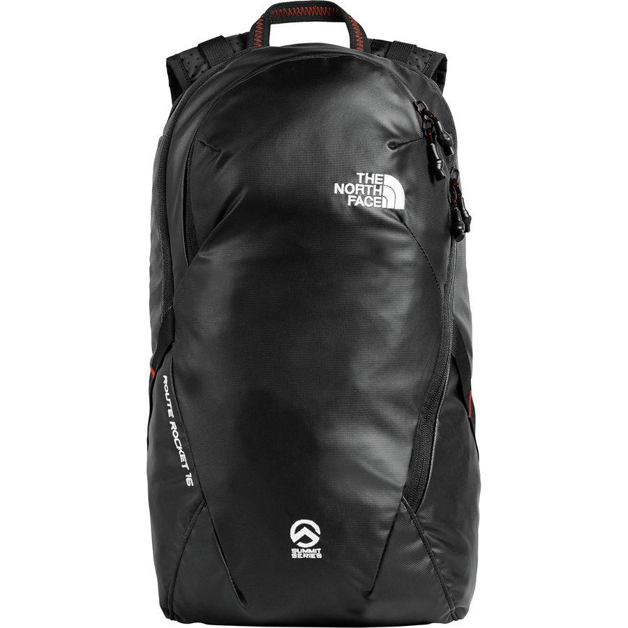 (取寄)ノースフェイス ルート ロケット 16L バックパック The North Face Men's Route Rocket 16L Backpack Tnf Black/Fiery Red