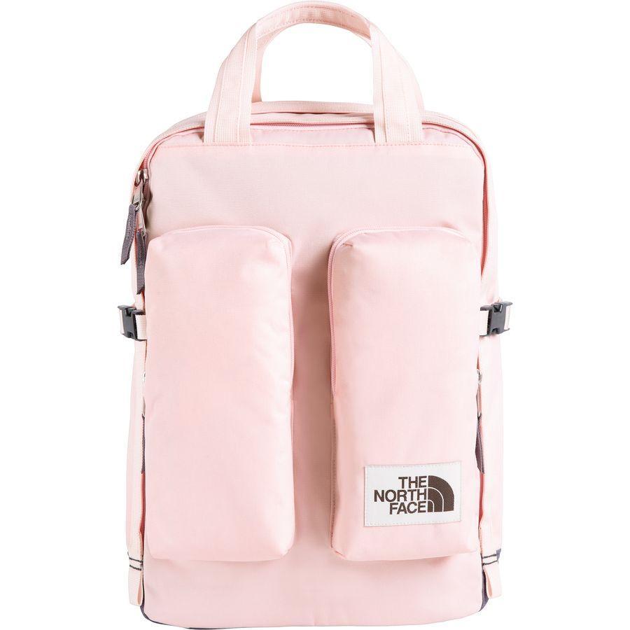 (取寄)ノースフェイス ミニ クレバス 14.5L バックパック The North Face Men's Mini Crevasse 14.5L Backpack Pink Salt/Rabbit Grey Light Heather