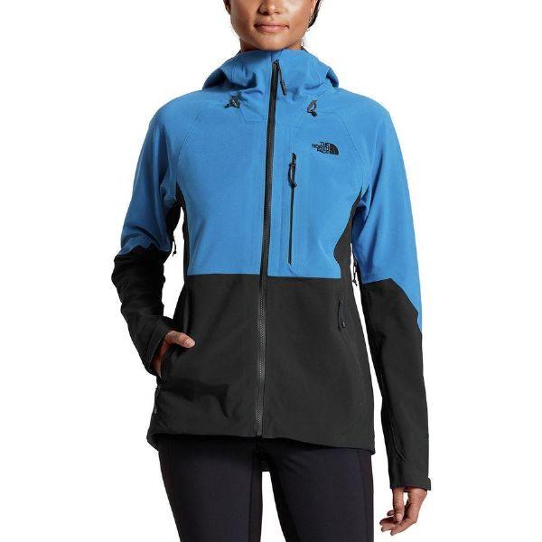 (取寄)ノースフェイス レディース アペックス フレックス Gtx 2.0 ジャケット The North Face Women Apex Flex GTX 2.0 Jacket Bomber Blue/Tnf Black