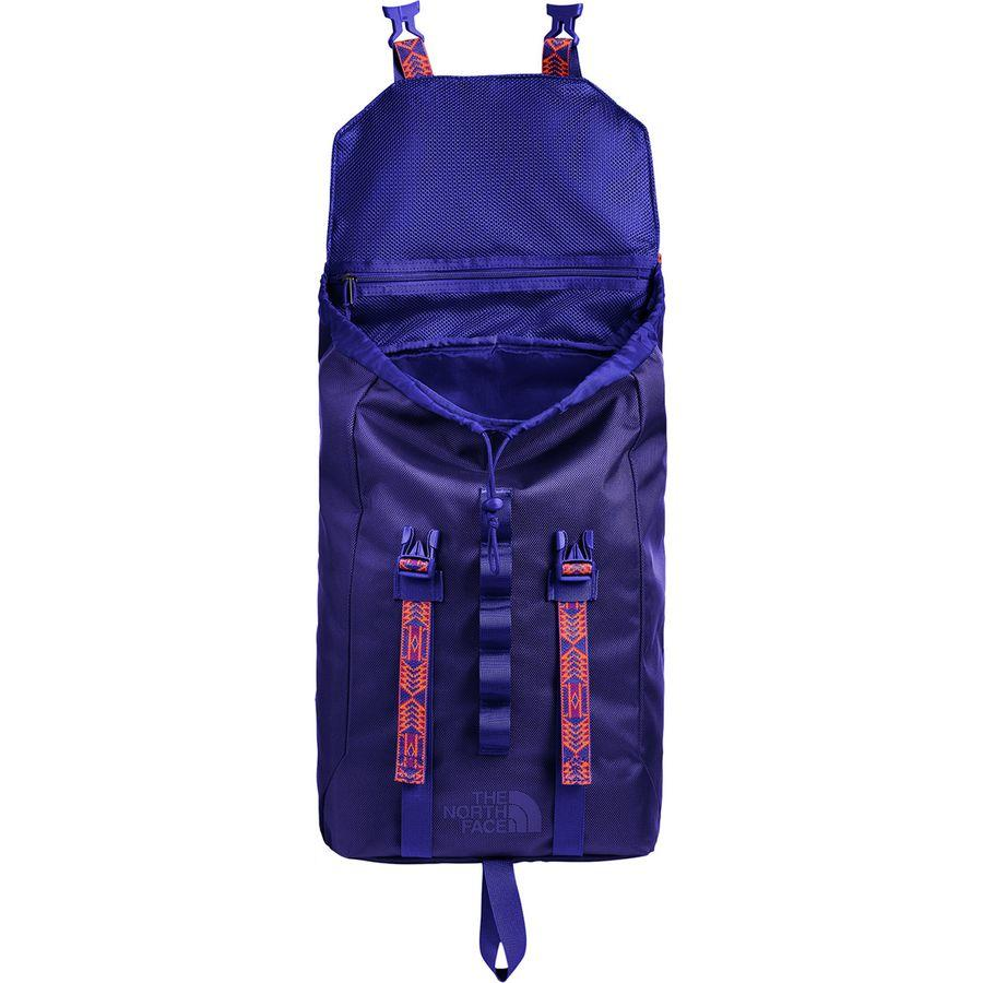 (取寄)ノースフェイス リネージュ ラック 23L バックパック The North Face Men's Lineage Ruck 23L Backpack Aztec Blue/Persian Orange