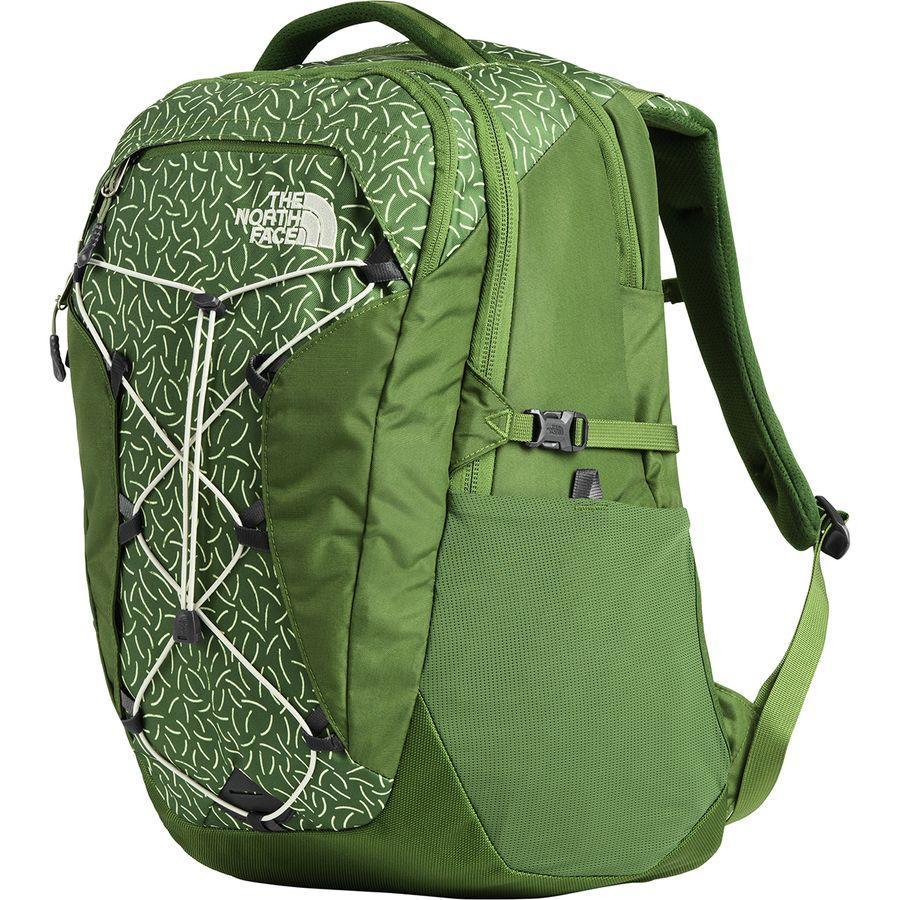(取寄)ノースフェイス レディース ボレアリス 27L バックパック The North Face Women Borealis 27L Backpack Garden Green/Garden Green Prickles Print