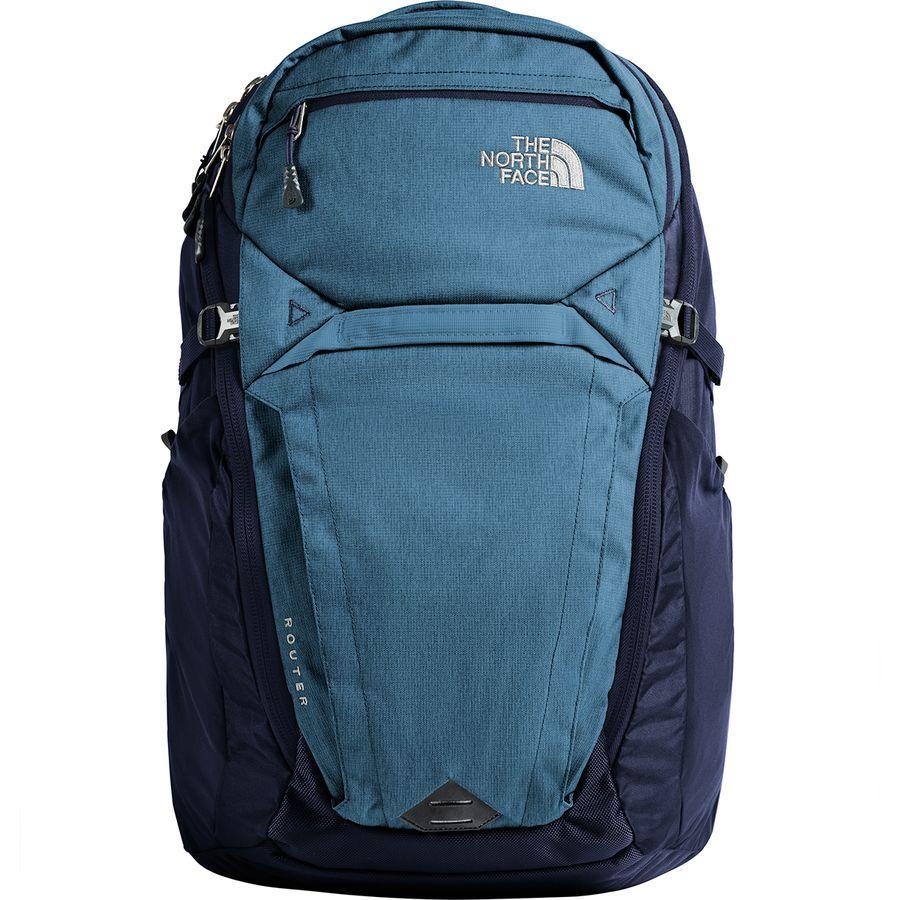 (取寄)ノースフェイス ルーター 40L バックパック The North Face Men's Router 40L Backpack Dish Blue Light Heather/Urban Navy