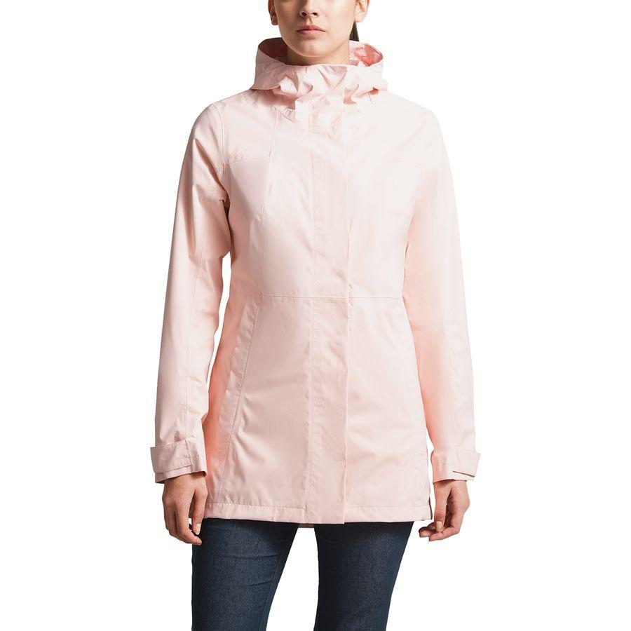 【クーポンで最大2000円OFF】(取寄)ノースフェイス レディース シティ ミディ トレンチ ジャケット The North Face Women City Midi Jacket Trench Pink Salt