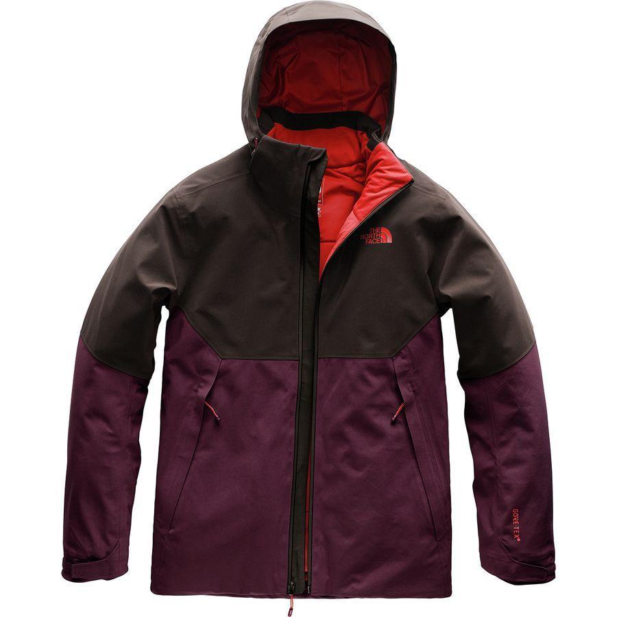 (取寄)ノースフェイス メンズ アペックス フレックス Gtx サーマル フーデッド ジャケット The North Face Men's Apex Flex GTX Thermal Hooded Jacket Fig/Bittersweet Brown
