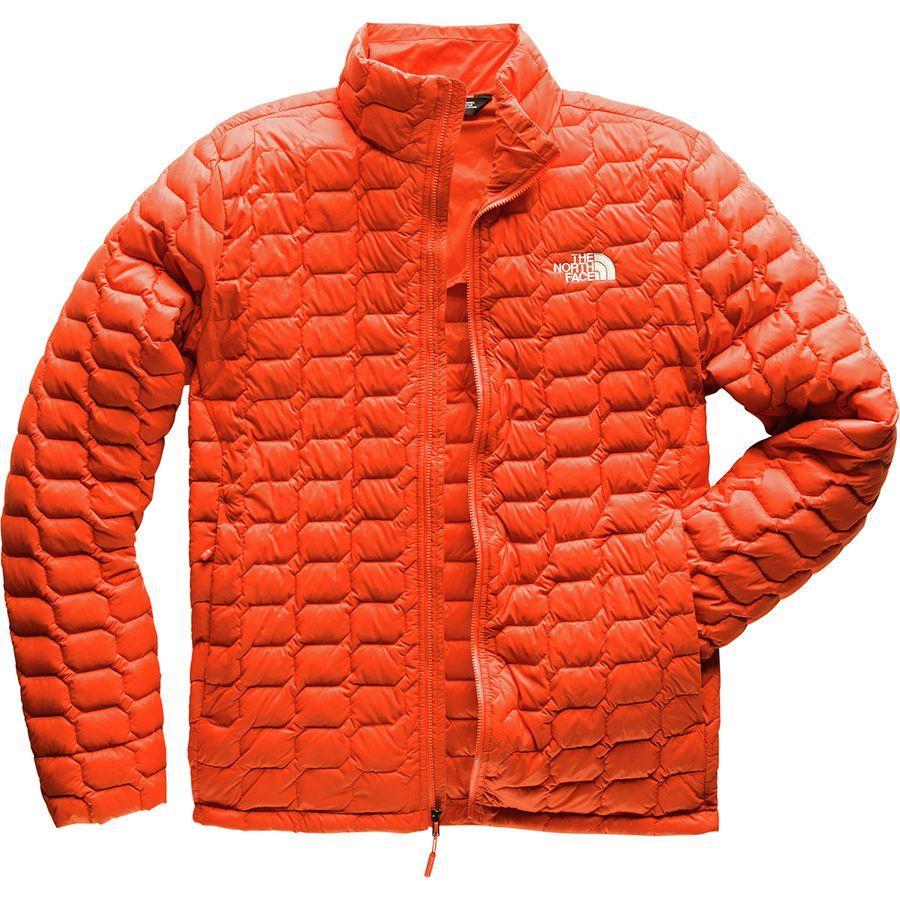 (取寄)ノースフェイス メンズ ThermoBall インサレーテッド ジャケット The North Face Men's ThermoBall Insulated Jacket Zion Orange Matte